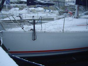 bateaux de plaisance, hivernage à flot