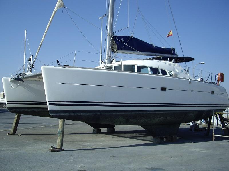 expertise pré-assurance catamaran d'occasion