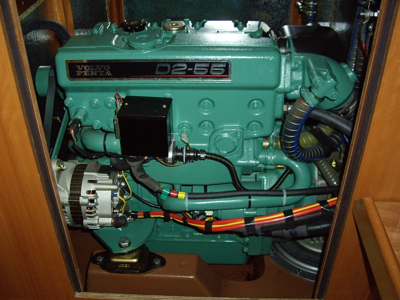 expertise voilier d'occasion moteur in-board diesel